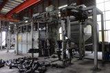 Autopartes de suspensión de la Catenaria continuo de granallado Máquina de limpieza