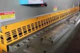 Macchina per il taglio di metalli di taglio dello strato della ghigliottina del piatto idraulico di serie di QC11y