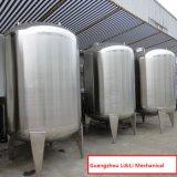Acero inoxidable horizontal tanque de almacenamiento de líquidos