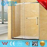 El estilo americano uno fijó una puerta de la ducha de la diapositiva (A3001)