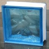 Claro del AAA/ladrillo de cristal teñido para el vidrio de la pared/el vidrio constructivo