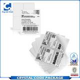 Escritura de la etiqueta de papel auta-adhesivo de la etiqueta engomada del envío A4 (8.5*11)