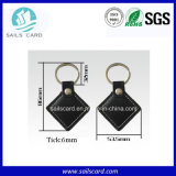Tag chave de 125kHz T5577 RFID para o controle de acesso