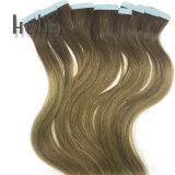 Double bande dessiné Ombre 18 pouces Ins Extension de cheveux humains