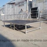 Fabrik-Preis-faltendes Aluminiumstadium für Verkauf