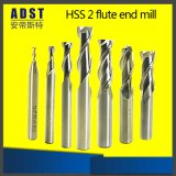 Tungsten HSS 2 floods Endmill solvently carbide Cutting tools