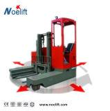 Multi Richtungs-elektrischer Reichweite-LKW des Lager-2.5tons, langer materieller Träger-multi Methoden-Batterie-Gabelstapler