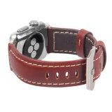 Cinghia di cuoio personalizzata 20mm della manopola genuina del cuoio di marchio 22mm