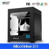 Imprimante de Digitals 3D de haute précision de taille d'impression d'Allcct Inker 200 d'usine grande de qualité de technologie directe de brevet