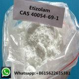 Polvo de Etizolam de la pureza del 99% para la fuente del anxiolítico 40054-69-1 Facotry