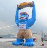車、膨脹可能な広告の気球(K2029)を持つ膨脹可能なゴリラ