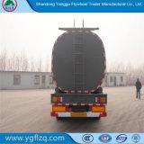 Depósito de aceite comestible/Semi-Trailer cisterna con capa de aislamiento térmico.