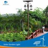 12hモノラルパネルによって完全密封される電池太陽装飾的なLEDの庭ライト