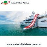 Diapositiva de agua adulta inflable gigante del yate del color rojo para la venta