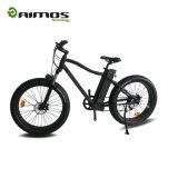 Bici elettrica della neve grassa della gomma di Fashionable48V 500W 750W 1000W