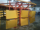 Línea de capa modificada para requisitos particulares del polvo de la solución para la línea de capa electrostática del polvo