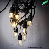 Waterproof Connectable S14 LED Christmas string Light with E26/E27 Bulbs