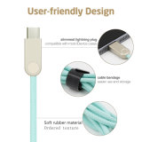 Type C를 위한 알루미늄 Alloy USB Charger Sync Cable Smartphone