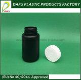 Frasco plástico do PE plástico dos produtos 120ml com tampão plástico