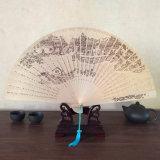 Folding Handwork Fan 의 우아한 생활 동안 Retro 고전적인 향 접히는 팬 여름 Hotsale 중국 작풍 숙녀
