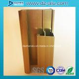El perfil de aluminio de África para la puerta de la ventana con final del molino anodizó el bronce modificado para requisitos particulares