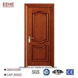 Diseño de madera interior de la puerta del panel del diseño simple
