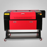 カラースクリーン700*500mmが付いている80W二酸化炭素レーザーレーザーの彫刻家の彫版の打抜き機