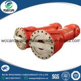 Diseño de prestaciones medias SWC Eje cardánico junta universal de acero de la banda de rodadura