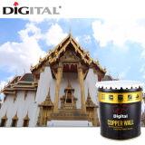 Cepillo de recubrimientos arquitectónicos pintura de pared exterior líquido