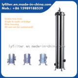 Food Grade 40'' de acero inoxidable Multi-Cartridge la caja del filtro para el equipo de tratamiento de agua RO