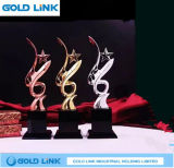 Trofeo cristalino de la taza del metal del cliente de los trofeos de la concesión del acontecimiento