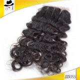 100 [برسنت3.54] [برزيلين] شريط إغلاق مع عذراء شعر