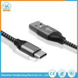 5V/2.1A de tipo C de carga de datos USB Cable de teléfono móvil