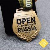 Commerce de gros disque personnalisé moulé doux de médailles d'émail