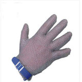 Handschoenen van de Veiligheid van het anti van de Besnoeiing van de Draad Roestvrij staal van het Netwerk de Werkende