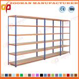 Grey Middle Duty Metal Shelving Warehouse Storage Rack (Zhr126)