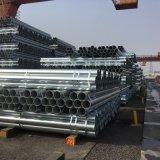Tubo galvanizado / Tubo de Aço galvanizados a quente / conduíte roscada do tubo gi
