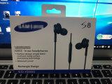 Fones de ouvido estéreo com microfone fone de ouvido para a Samsung S8 Plus