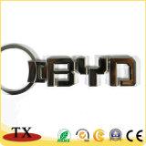 Corrente chave do logotipo relativo à promoção por atacado do carro da liga do zinco do presente