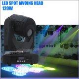 120W Gobo 반점 LED 이동하는 맨 위 단계 빛