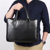 Progettare le borse per il cliente del portafoglio del sacchetto di cuoio della fibra del carbonio di alta qualità
