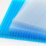 Folha de policarbonato do tipo alveolar Multicell plástico para emissões