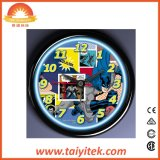 싼 가격 현대 벽시계 예외적 간단한 플라스틱 시계 OEM
