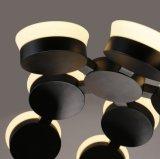 Het acryl het Hangen van de Maan van de Lamp van de Tegenhanger Moderne Toenemende Licht van de Tegenhanger voor Zaal