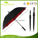 ギフトのゴルフ傘を広告する熱い販売マニュアルの開いた雨