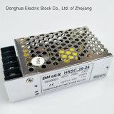 Hsc-25는 264VAC 산출에 출력 전력 공급 25W 입력 AC 88를 5V, 12V, 15V, 24V, 48V 골라낸다