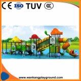 Amplo jardim com parque infantil deslize (WK-A1211)