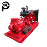 Zentrifugale Wasser-Pumpe angetrieben durch Dieselmotor für die Entwässerung