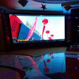 Vidéo polychrome de location d'intérieur de HD DEL annonçant l'Afficheur LED