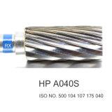 CNC 치과 실험실 교련 탄화물 텅스텐 절단기 저속 Burs HP A040S